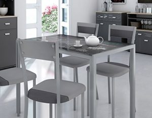 Mesas de cocina de cristal - Las mas mesas mas bonitas de 2018