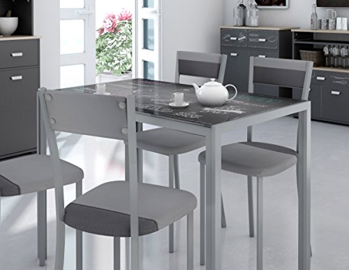 Mesas de cocina de cristal las mas mesas mas bonitas de 2019 for Mesas de cocina de cristal